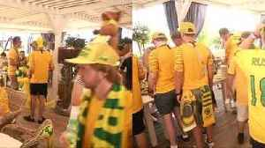 Peru and Australia fans flood Sochi ahead of World Cup match [Video]