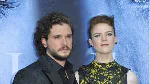 'Game of Thrones' Stars Marry In Scotland [Video]