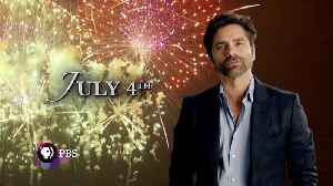 John Stamos hosts A Capitol Fourth on PBS [Video]