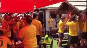 'Stand up for the Socceroos!' Australian fans prepare ahead of Peru clash [Video]