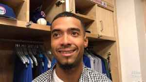 Cubs' Duane Underwood Jr. on his MLB debut and the Matt Kemp at-bat [Video]