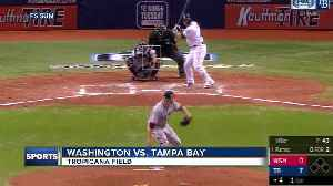 Blake Snell nears no-hitter, Kevin Kiermaier hits grand slam as Rays top Nationals [Video]