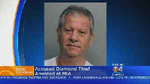 Suspect In Chicago Diamond Theft Arrested At Miami Airport [Video]
