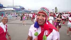 Peru fans win the hearts of Aussies [Video]