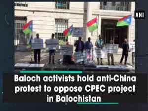 Baloch activists hold anti-China protest to oppose CPEC project in Balochistan [Video]