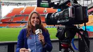World Cup reporter tells off jerk for inappropriate kissing attempt [Video]