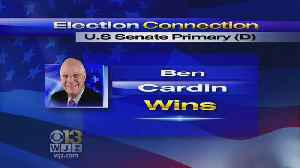 Sen. Ben Cardin Wins Primary Over Chelsea Manning, 6 Others [Video]