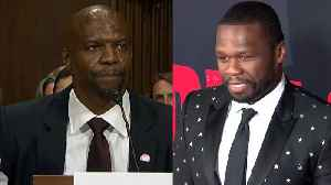Rapper 50 Cent Mocks Terry Crews for Admitting He Was Groped by Agent [Video]