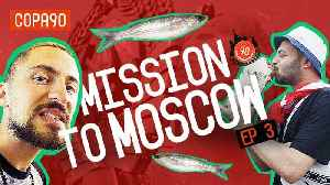 People Eat This Because They Like it?!  | Mission to Moscow with pumafootball [Video]