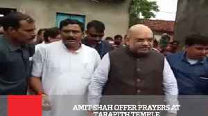 Amit Shah Offer Prayers At Tarapith Temple [Video]