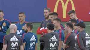 Spain gear up for knockout game against Russia [Video]