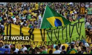 Anti-government protests hit Brazil | FT World [Video]