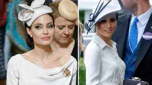 Is Angelina Jolie's Royal Style Comparable to Meghan Markle? [Video]