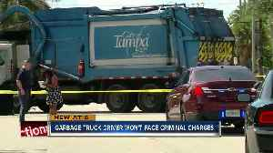 News video: No charges for Tampa garbage truck driver who hit, killed woman on Davis Islands