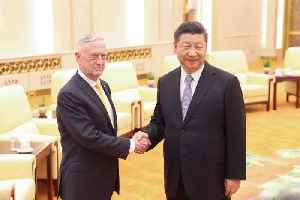 Xi Jinping Warns James Mattis That China Won't Surrender 'One Inch' of Territory [Video]