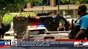 News video: Multiple people shot at Annapolis, Maryland newspaper office