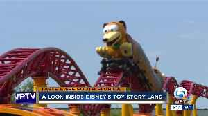 PREVIEW: Disney World's new Toy Story Land opening June 30 [Video]