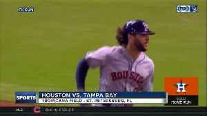 Houston Astros beat Tampa Bay Rays 1-0 for 11th straight road win [Video]