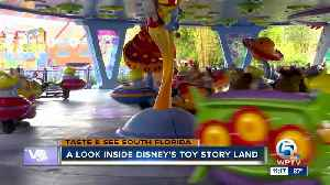 PREVIEW: Disney World's new Toy Story Land [Video]