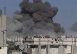 Black Smoke Billows into Sky After Air Strike in Nawa, Daraa Province [Video]
