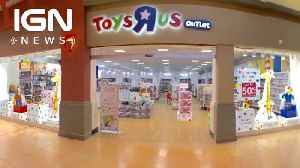 Today Is the Day Every Last for Toys R Us Stores [Video]