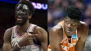 Joel Embiid Dunks On & CURSES Out Mo Bamba! [Video]