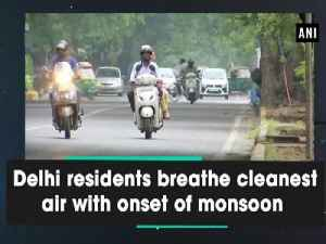 Delhi residents breathe cleanest air with onset of monsoon [Video]