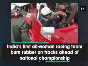 India's first all-woman racing team burn rubber on tracks ahead of national championship [Video]