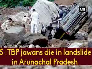 5 ITBP jawans die in landslide in Arunachal Pradesh [Video]