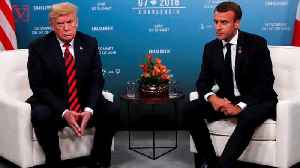 Trump Reportedly Offered French President Macron Better Trade Deal to Leave the EU [Video]