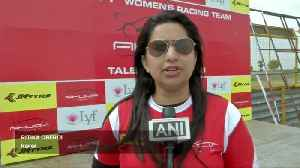 India's first all-female motor racing team test training [Video]