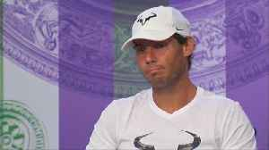 Nadal feeling good after giving body a break before Wimbledon [Video]