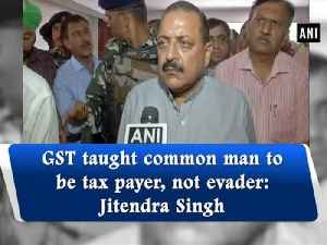 GST taught common man to be tax payer, not evader: Jitendra Singh [Video]
