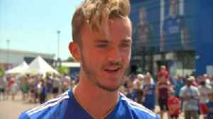 Maddison keen to get started at Leicester [Video]