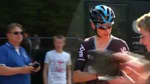 Froome to ride Tour despite owners trying to bar him, says wife [Video]