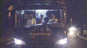 Spain return to team base after World Cup exit [Video]