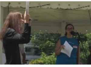 Huntsville Immigration Reform Protest Heckled, Disrupted by Man With Gun [Video]
