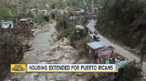 News video: Judge orders to extend housing for Puerto Rican evacuees