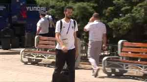 Spain national team leaves Russia following defeat against the hosts [Video]