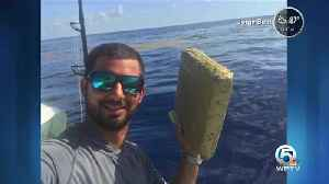 South Florida fisherman finds floating marijuana brick off Pompano Beach [Video]