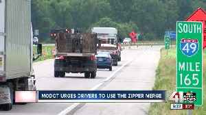 News video: MoDOT expects big backups on I-49 holiday week