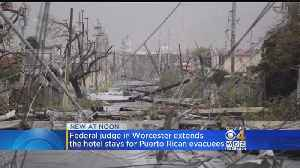 Federal Judge In Mass. Extends Housing For Puerto Rican Hurricane Evacuees [Video]