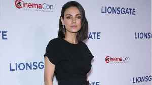 Mila Kunis Wore A Special Necklace To Dodgers Game [Video]