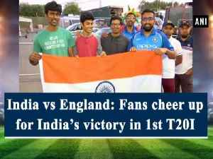 India vs England: Fans cheer up for India's victory in 1st T20I [Video]