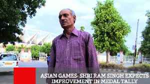 Asian Games  Shri Ram Singh Expects Improvement In Medal Tally [Video]