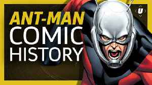 The Comic Book History Of Ant-Man | Ant-Man And The Wasp [Video]