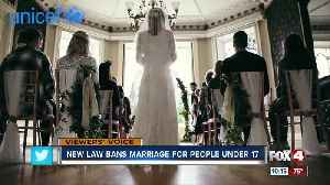 New law bans child marriage [Video]