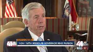 New Mo. Gov.: 'I want to be a public servant' [Video]