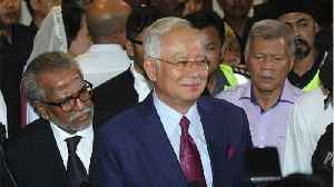 News video: Former Malaysian PM Razak Pleads Not Guilty To Corruption Chargers