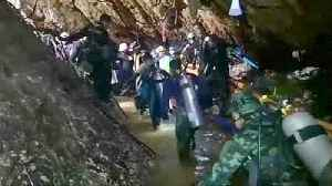 News video: Rain feared as rescue from Thai cave planned